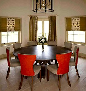 Rupert Bevan's Superb Round Dining Table