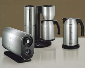 Matching Coffee Maker And Toaster : The Porsche Design Breakfast Set From Siemens - UK Home IdeasUK Home Ideas