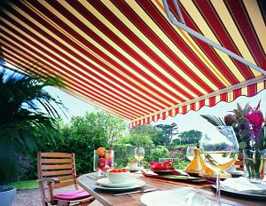 Remote Control Garden Awning from Thomas Sanderson