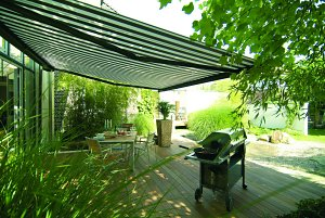 The Ultima Garden Awning From Thomas Sanderson