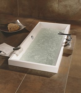 unique bathtubs with invisible jets from villeroy boch - Villeroy And Boch Baths