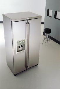 Whirlpool fridge freezer american style