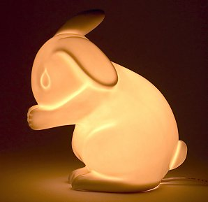Bunny Rabbit Night Light From White Rabbit Company